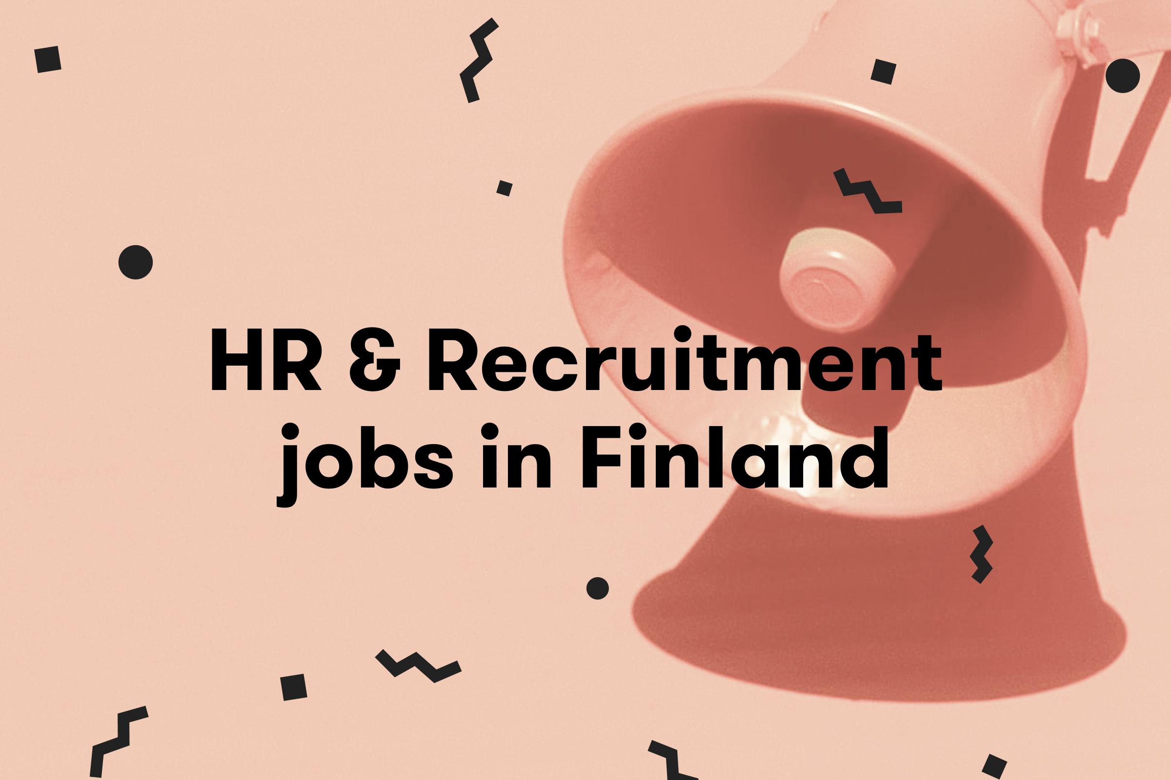 HR jobs in Finland