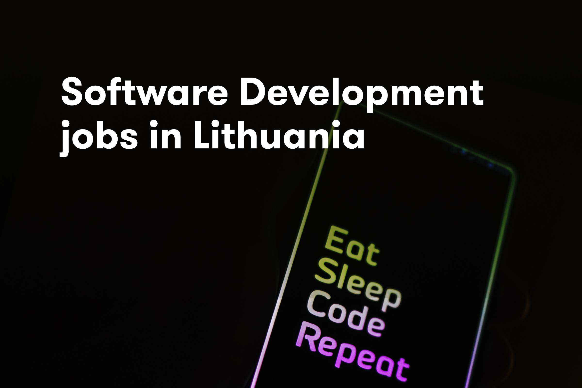 Software development jobs in Lithuania