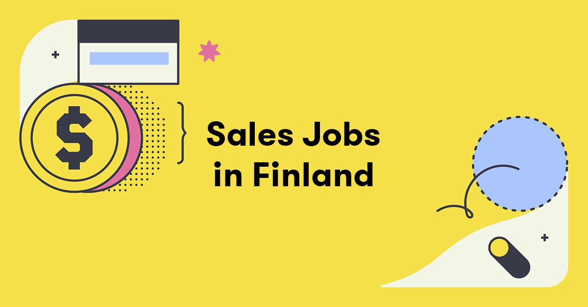 Sales jobs in Finland