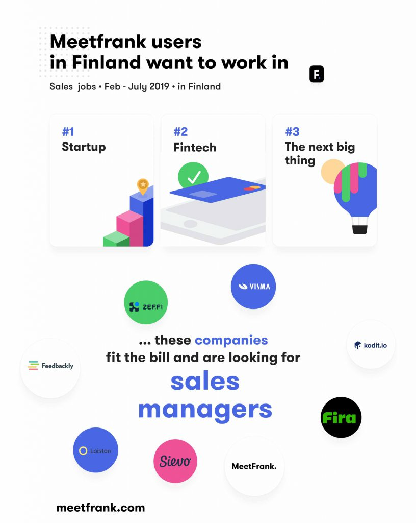 sales jobs in finland - where people want to work?
