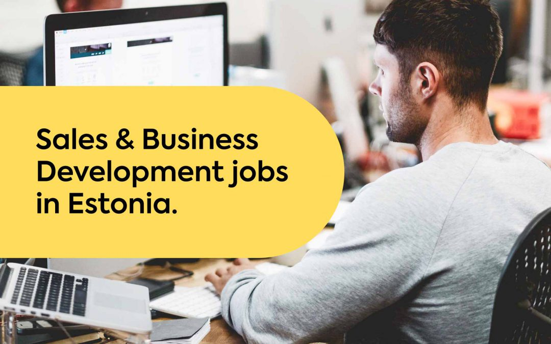 Find the Perfect Workplace for Sales Jobs in Estonia