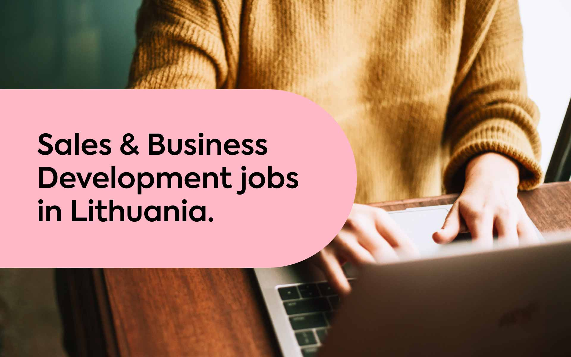 sales jobs in Lithuania