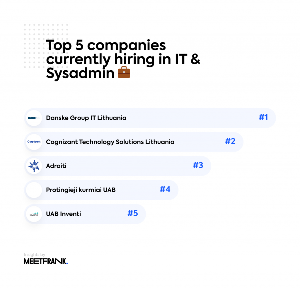 top companies IT jobs in Lithuania