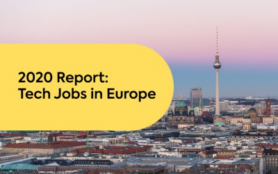 Tech Jobs in Europe: 2020 Overview