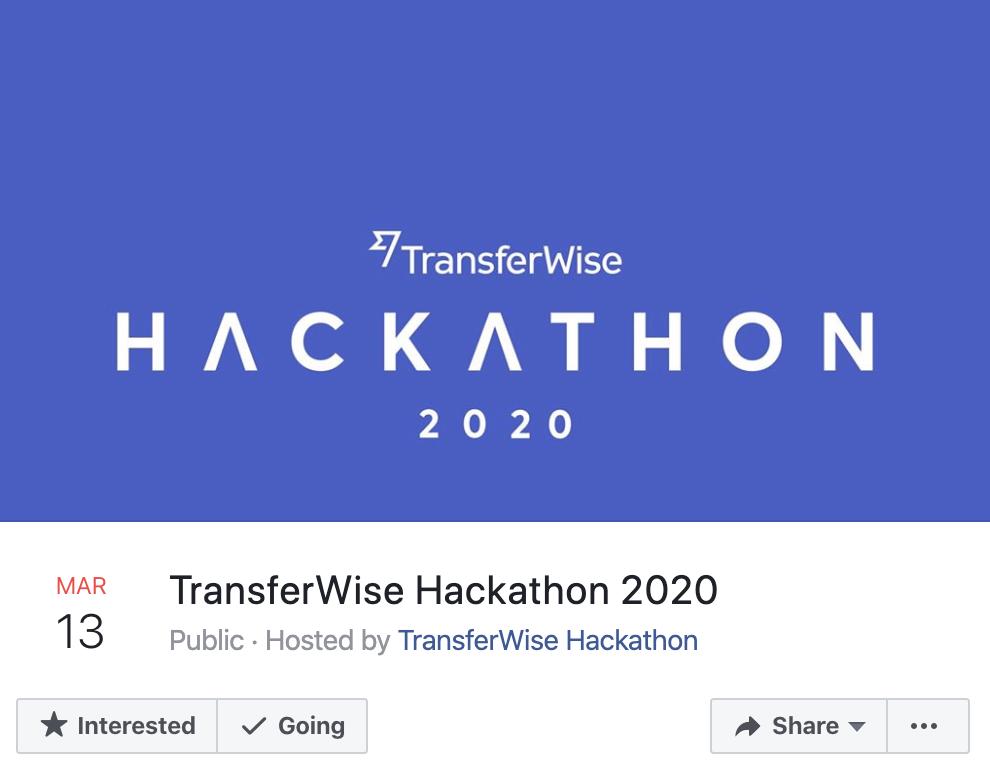 transferwise hackathon
