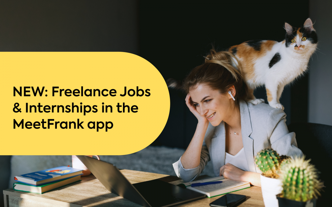 NEW: Freelance Jobs & Internships in the MeetFrank App
