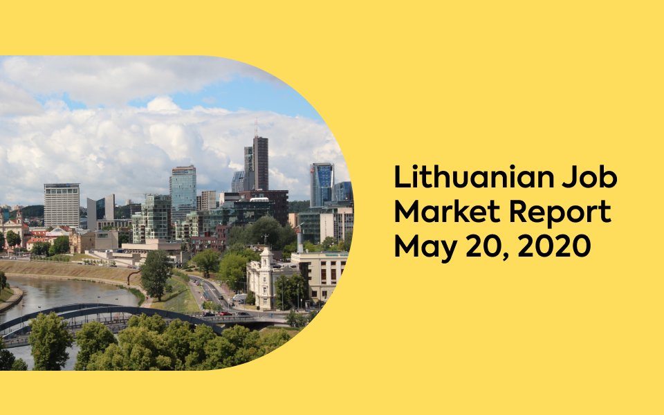 Lithuanian Job Market Report, May 20, 2020