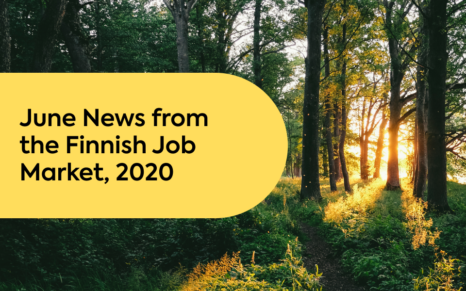 June News from the Finnish Job Market