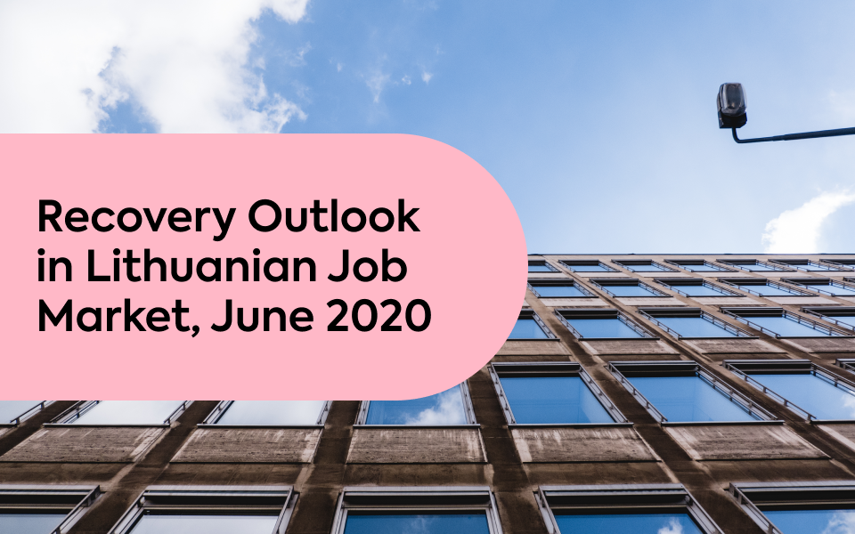 Recovery Outlook in Lithuanian Job Market, June 2020