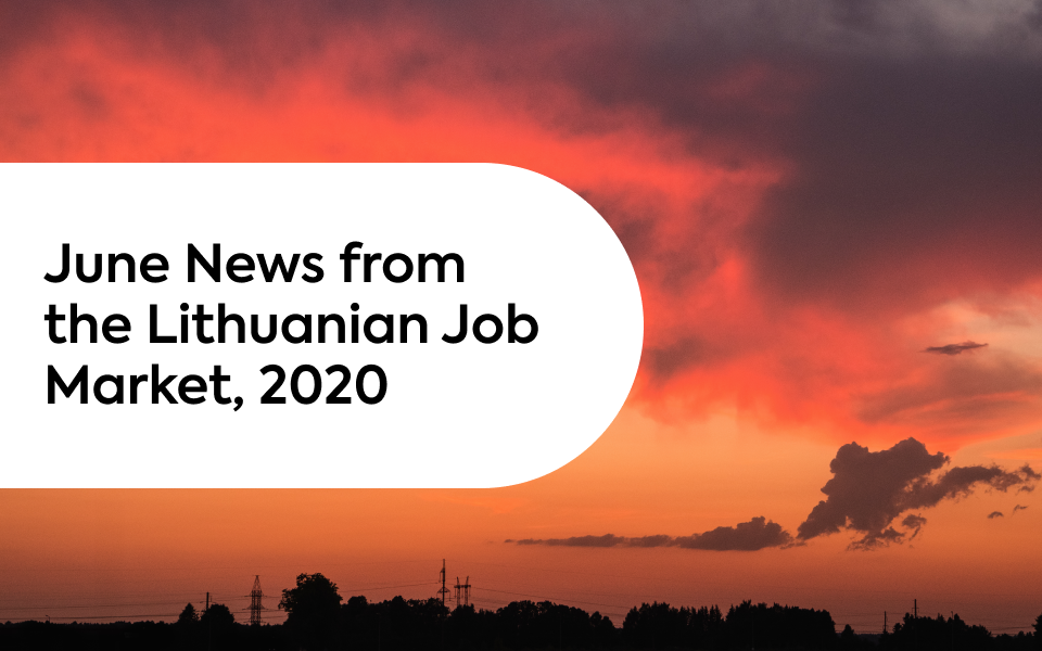 June News From the Lithuanian Job Market