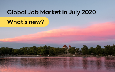 Global Job Market in July 2020: What's new?
