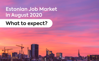Estonian Job Market in August 2020 – What to Expect?