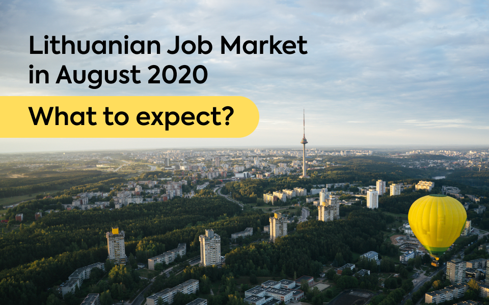 Lithuanian Job Market in August 2020: What to Expect?