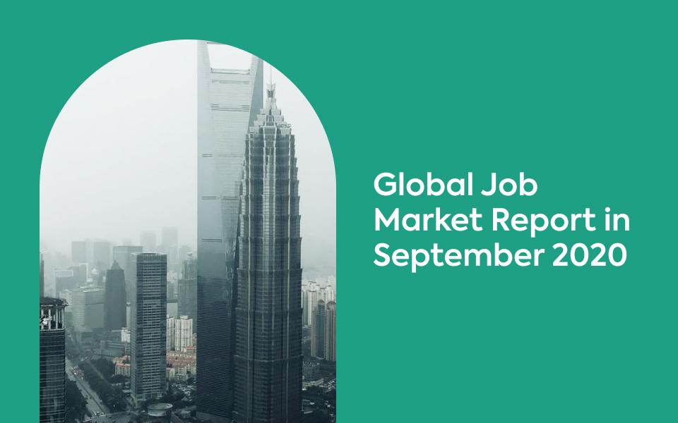 Global Job Market in September 2020