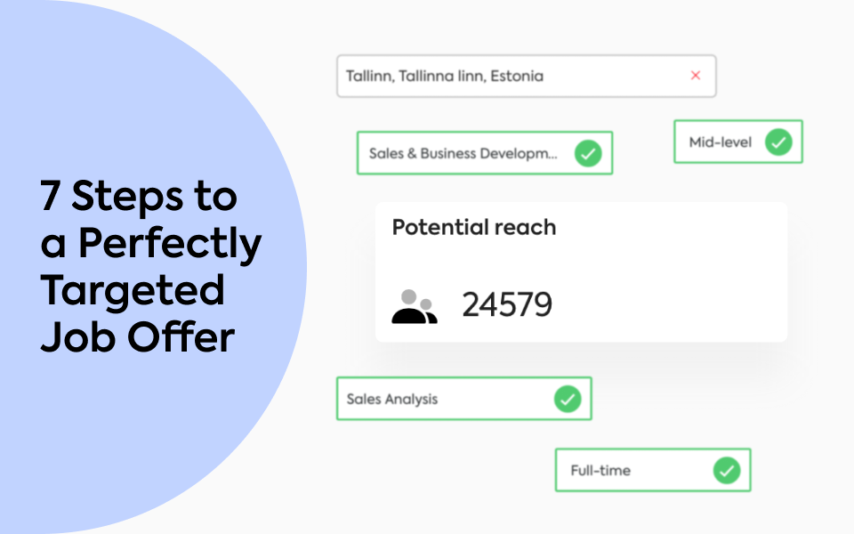 7 Steps to a Perfectly Targeted Job Offer (with Examples)