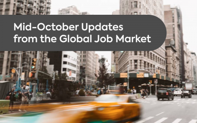 Mid-October Updates from the Global Job Market