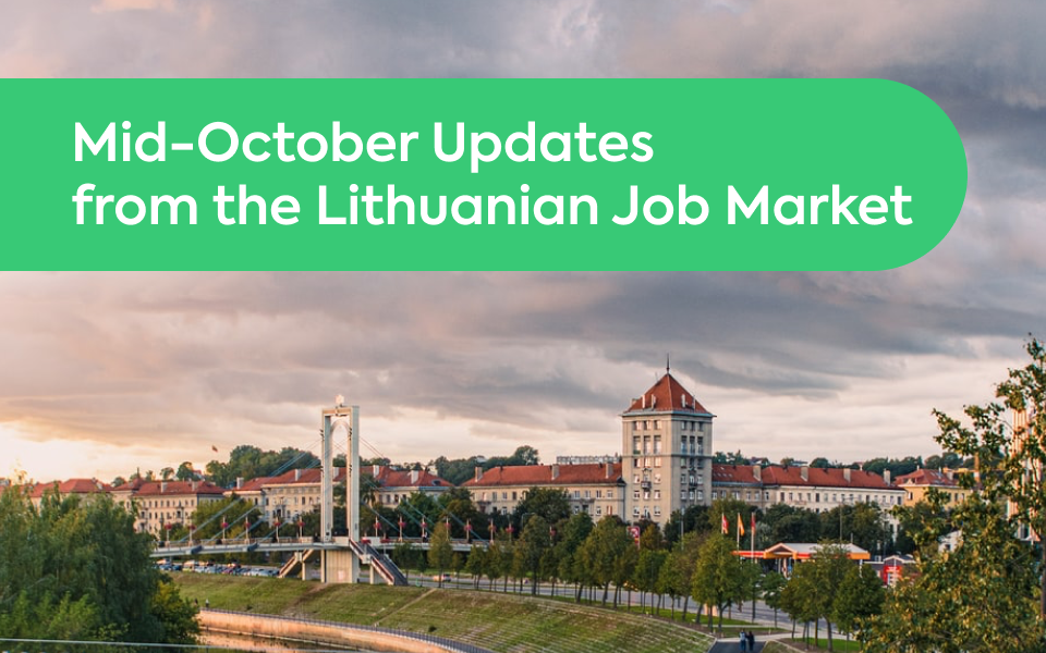 Mid-October Updates from the Lithuanian Job Market