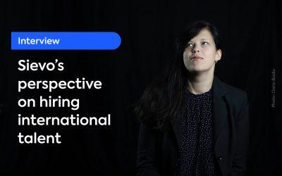 Interview – Sievo's perspective on hiring international talent