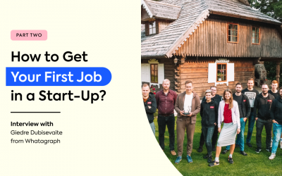 How to get your first job in a start-up? – Part 2