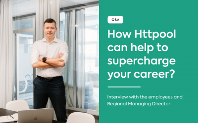 Q&A: How Httpool can help to supercharge your career?