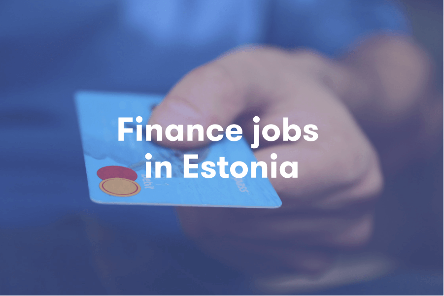 Finance jobs in Estonia